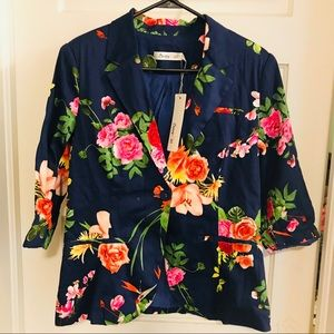Floral Blazer from Modcloth